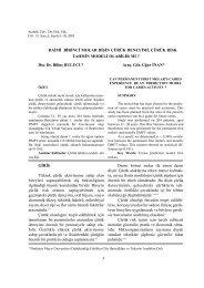 2005_3_ 2.pdf - Diş Hekimliği Fakültesi Dergisi - Atatürk Üniversitesi