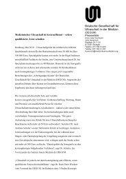 Download Pressemitteilung - Degum
