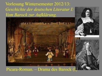 Vom Barock zur Aufklärung VI - Heinrich Detering