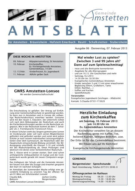 Amstetten - recognition-software.com