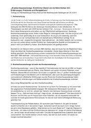 Der ausführlichen Bericht von Pfarrer Hoof - Evangelischer ...