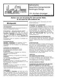 Kirchenanzeiger Nr. 19 01.12. - Kath-kirche-geislingen.de