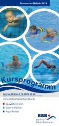 Kursprogramm - Berliner Bäder Betriebe