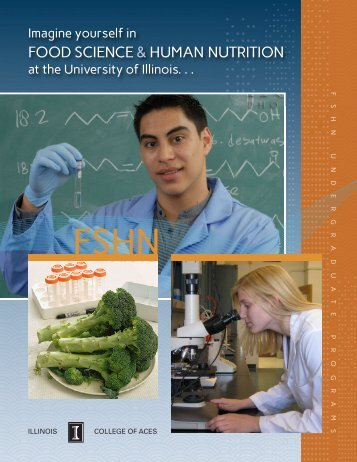 FSHN Undergraduate Programs Booklet (PDF) - College of ...
