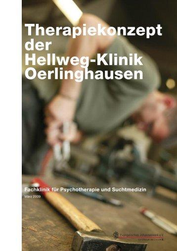 Therapiekonzept - Hellweg-Klinik Lage