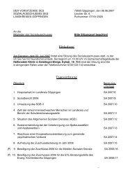 Einladung Tagesordnung - Landkreis Göppingen