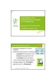 PowerPoint-Präsentation Kreiskämmerer Stolz (PDF) - Landkreis ...