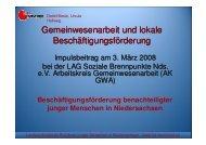 LAK Präsentation - Landesarbeitsgemeinschaft Soziale ...