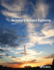 University - Department of Mechanical and Aerospace Engineering ...
