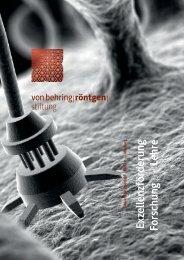 gelangen Sie zur Broschüre (PDF). - Von-Behring-Röntgen-Stiftung