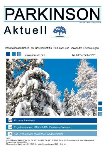 """Download Zeitschrift """"Parkinson Aktuell"""" - Parkinson Südtirol ..."""