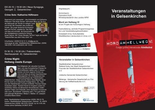 Veranstaltungen In Gelsenkirchen Stadtbibliothek Stadt