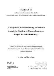 Energetische Stadterneuerung im Rahmen integrierter ...