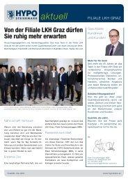aktuell - HYPO Steiermark