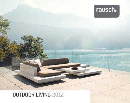RAUSCH OUTDOOR LIVING Katalog 2012 - Inés Gress Interior