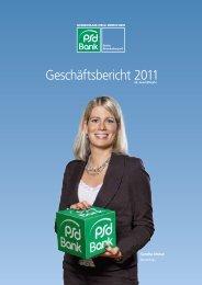 Geschäftsbericht 2011 - PSD Bank Berlin-Brandenburg eG