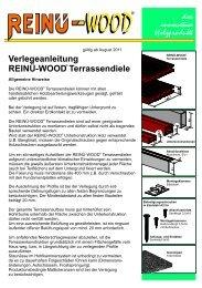 Verlegeanleitung - Reinü-FEFA - DE