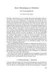 Berns Münzprägung im Mittelalter - Berner Zeitschrift für Geschichte