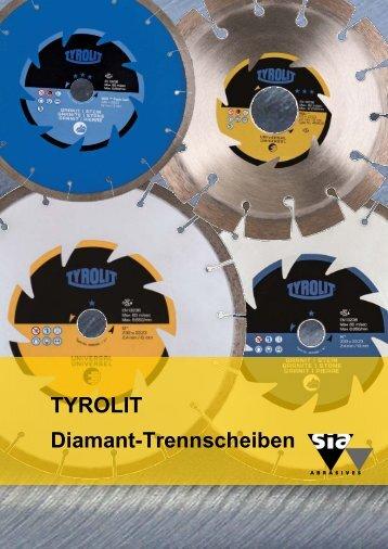 TYROLIT Diamant-Trennscheiben - sia Abrasives