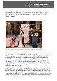 28. Oktober 2010 - Bavaria Film Interactive