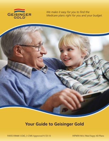 Your Guide to Geisinger Gold - Geisinger Health Plan