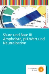 Säure und Base III Ampholyte, pH-Wert und Neutralisation - FWU