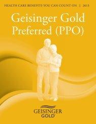 Preferred (PPO) - Geisinger Health Plan