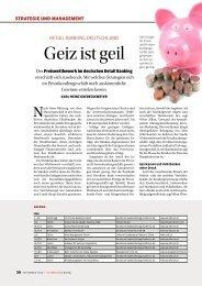 Geiz ist geil - Investors Marketing AG
