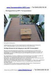 für WPC-Terrassendielen als PDF - Terrassendielen-WPC