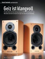 Test & Technik Lautsprecher - MW-AUDIO