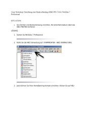 (HBCI PIN TAN): WinData 7 Professional SITUATION - Volksbank ...