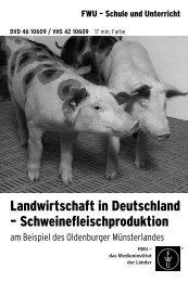 Landwirtschaft in Deutschland – Schweinefleischproduktion