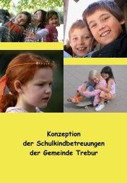 Konzeption Schulkindbetreuung - Kinder in Trebur