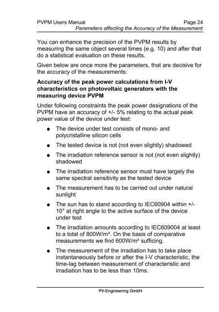 UI-Kennlinienmeßgerät für Solarmodule und -generatoren