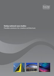 Kalzip National Case Study Brochure