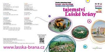 průvodce lašskou branou v pdf (3.3 mb) - Lašská brána Beskyd