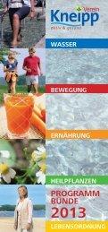 Jahresprogramm 2013:Jahresprogramm 2008 - Kneipp-Verein ...