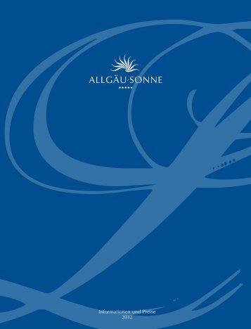Informationen und Preise 2012