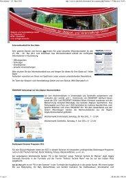 Newsletter - 23. Mai 2011 - Erdinger-arena.net