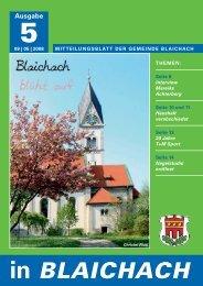 in BLAICHACH - Gemeinde Blaichach