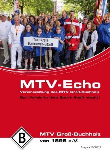 Ausgabe 02 / 2012 ( 2.7 MB ) - MTV Groß-Buchholz