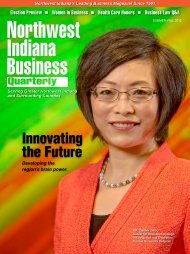 Summer 2012 - Northwest Indiana Business Quarterly Magazine