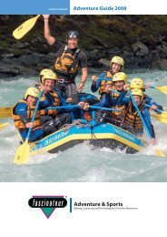 Adventure & Sports - Faszinatour Touristik-Training-Event GmbH