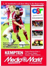 ASR Sport Ausgabe April 2012 - Allgäu Sport Report