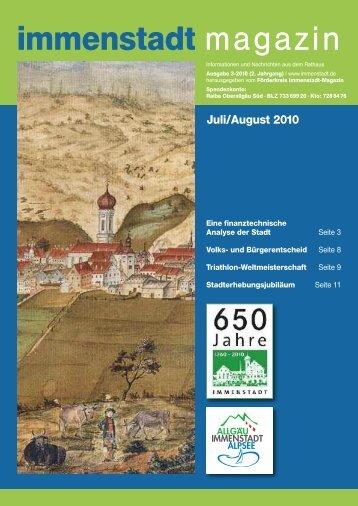 immenstadt magazin - Ferienregion Alpsee Grünten
