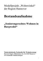 Bestandsaufnahme-Burgwedel (pdf) - Neues Wohnen