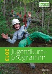 jugendkursprogramm 2013 OL.pdf - JDAV