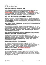FAQ's - FH-Jena, FB ET/IT - Fachhochschule Jena