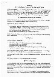 Satzung der Freiwilligen Feuerwehr der Gemeinde Mölln (16.11