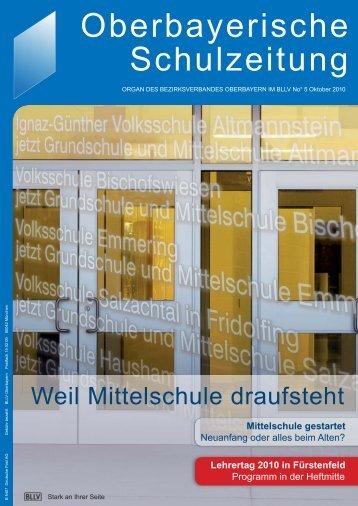 Oberbayerische Schulzeitung - MLLV